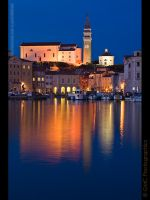 Crossover light at Piran by GMCPhotographics