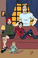 The Parkers (colored) by edCOM02