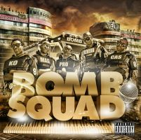 Bomb Squad - The Explosion CD Sleeve Design by ThaboThabiso