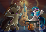 Concert Horses by DeathPwny