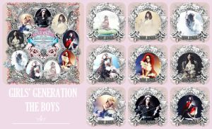 THE BOYS Cards Cover I - SNSD by HigSousa