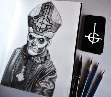 Papa Emeritus ii by er69ck