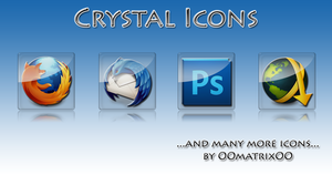 Crystal Icons by OOmatrixOO
