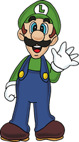 Luigi by Tails19950