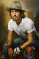 Johnny Depp by SoulOfDavid