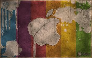 New Vintage Apple logo by PhotosAK