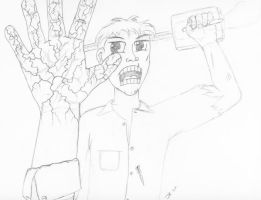 The Hand Went Bad by jcastick