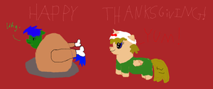 Happy Thanksgiving from Update and Beautiful Lamb by ttrbpeace