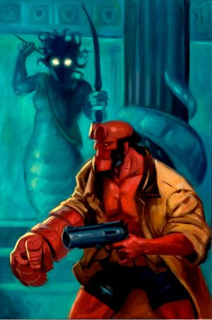 Hellboy vs Medusa