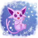 2 Days to Espeon's Day by CaninePrince