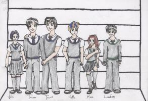 Usual Suspects by Electric-Ace by Hogwarts-Castle