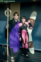 Miroku and Sango Cosplay by SerenityPhoenix