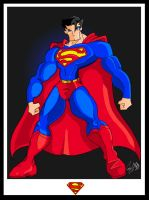 Superman - Hero by The-Suntan-Superman
