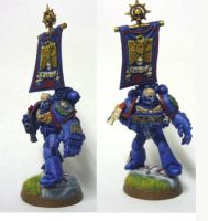 Ultramarine Captain by cjmj1975