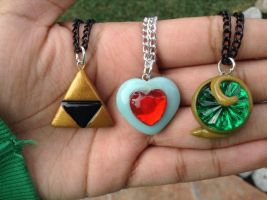 Legend of Zelda necklace collection by Saloscraftshop