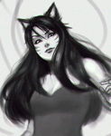 Ahri sketch by BannanaPower