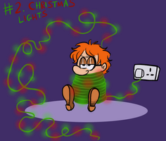 Drawvent Calendar 2 - Christmas Lights by TopperHay