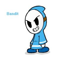 Blue Bandit Request by Awko-Talko