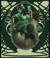 Janus Commission Absinthe Small by mouseymachinations