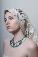 Lace headdress 2 by Sinned-angel-stock