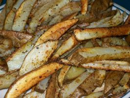 homemade fries by KarmicCircle