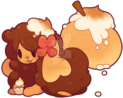 Snickerdoodle Cupcake Ref - Art: FIuffer by Rockzillahh