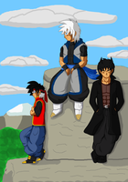 Dragon Ball TS: The 3 by SkySonSSj1
