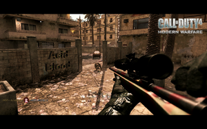 CoD4 Sniper M40A3 by EdwardElric88