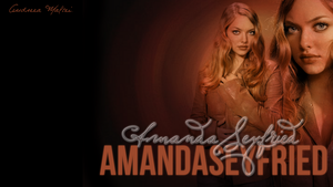 Wallpaper of Amanda Seyfried. by AndreeaMaftei