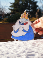 Hi Ice King by DontTouchMyLlama