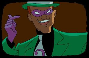Virtual Riddler by ArachFinne