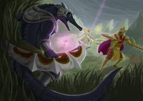 Battle of the Ascended - League of Legends by Jeeymo