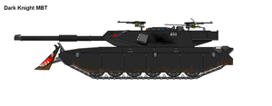 Dark Knight Main Battle Tank by PaintFan08
