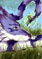 ACEO 112 Brighten loneliness by ChemicalIceTea