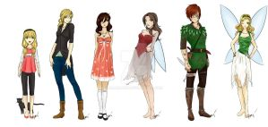 Witches of Neverland - Cast by Lia-Amari