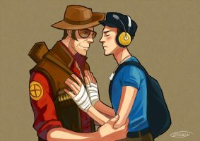 TF2::Can you feel my heart by Nicca11y