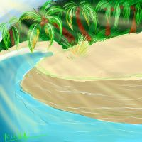 tropical island by nickyb123
