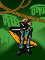 A is for Animal Man by Cubed1