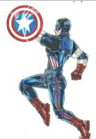 Captain America by wikkidkid