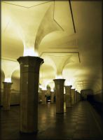Art of Moscow Metro. 11. by VeIra-girl