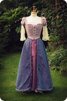 Tangled Rapunzel costume commission Finished by Rachyf1