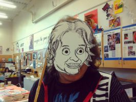 James freaky mask by Officialpoypoy
