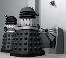 Daleks on Deck by Librarian-bot