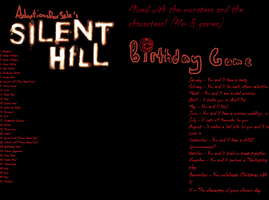 Silent Hill Birthday Game!! by TheFatassTeletubby