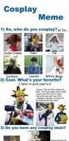 Cosplay meme by Malindachan