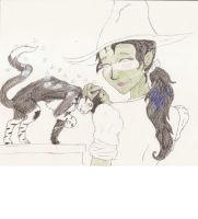Misto is Elphaba's Cat by crazyashley