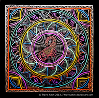 Scorpio Mandala by TravisAitch