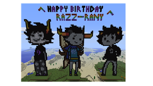 Happy Birthday Razz-Rany by little-devil-soul