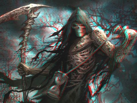 Horror Reaper 3-D conversion by MVRamsey