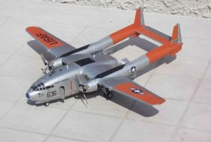 1:72 Fairlchild C-119G by Alan-the-leopard